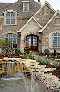The Versailles model home from Silvestri Custom Homes